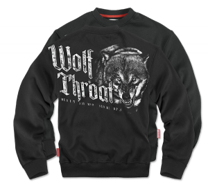 "Sweatshirt ""Wolf Throat"""