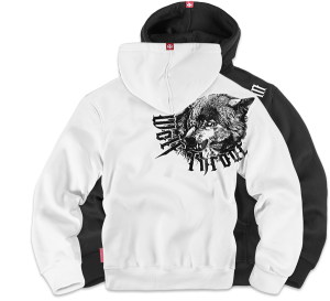 "Kapuzensweatshirt ""Wolf Throat"""