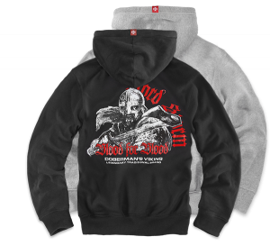 "Kapuzenjacke,zip ""Blood for Blood"""
