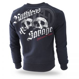"Sweatshirt ""Ruthless and Savage"""