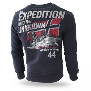 "Sweatshirt ""Unknow Expedition"""