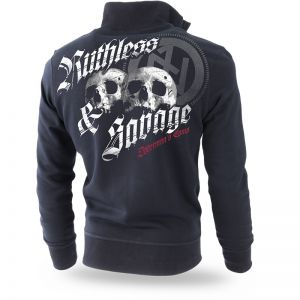 "Sweatjacke ""Ruthless and Savage"""