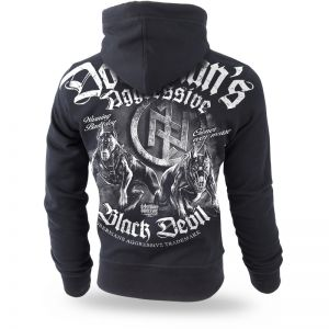 "Kapuzensweatshirt ""Black Devil"""