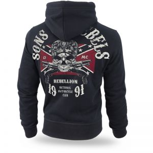 "Kapuzenjacke,zip ""Sons of Rebels"""