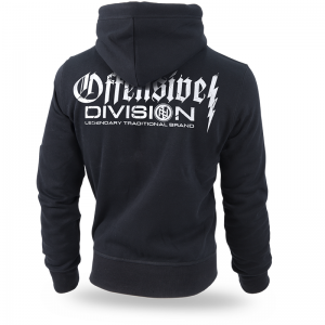 "Kapuzenjacke,zip ""Offensive Division"""
