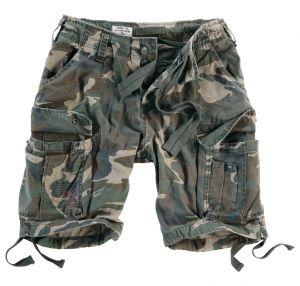 "Shorts ""Airbone"" washed"