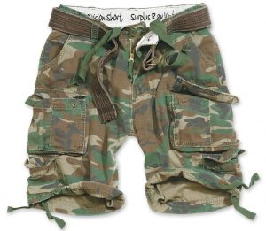 """Shorts """"Division"""" woodland"""