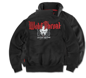 "Sweatjacke ""Wolf Throat"""