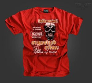 "T-shirt ""Organized Crime"""