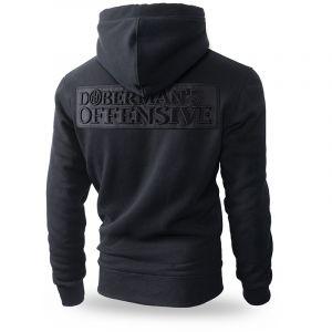 "Kapuzenjacke,zip ""Dobermans Offensive"""
